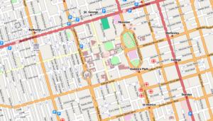 Toronto-street-map